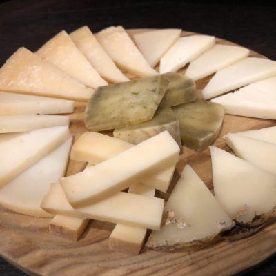 Tabla 6 quesos